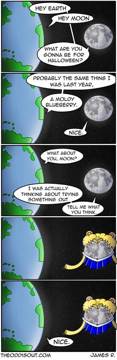 Theodd1sout :: Sailor Moon | Tapastic Comics - image 1
