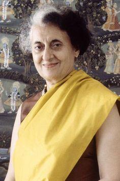 Indira Gandhi - 50 Women Who Changed The World   Stylist Magazine