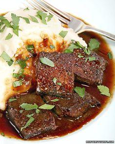 Braised Monkfish with Wild Mushrooms and Cipollini Onions | Martha ...