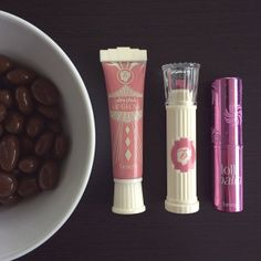 #orchid lips and #chocolate snacks!