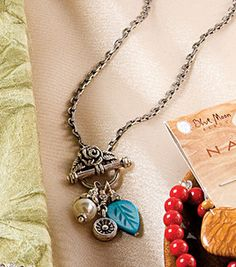 toggle necklace with charms diy