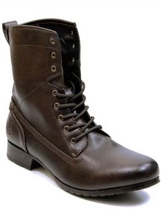 16 eye work boots