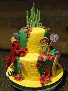 Wizard of Oz cake by carey iennaccaro