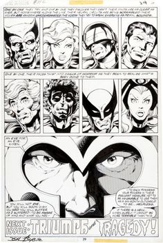 ANOTHER OF BYRNE/AUSTIN'S MASTERPIECES!!  Original Comic Art:Panel Pages, John Byrne and Terry Austin X-Men #112 Page 29 Original Art(Marvel, 1978).... Image #2