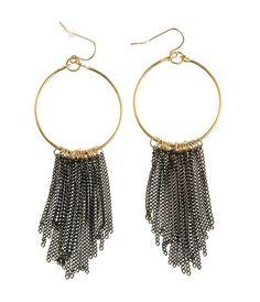 .Cercei rotunzi cu lanturi - Cumpara-i acum la pretul de doar 29,99 lei Top 5, Lei, Drop Earrings, Jewelry, Fashion, Moda, Jewlery, Bijoux, Fashion Styles