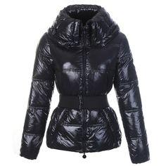 France Moncler Aliso Down Black Jacket Women Outlet Online