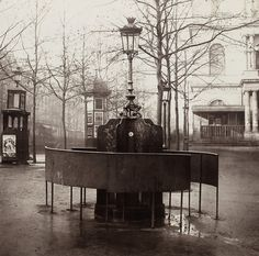 Public urinals - known as pissoirs in France - enjoy a fascinating history in Paris. But where have they gone? A short history from @plumbworld.