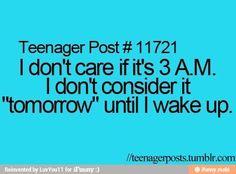 I know I don't!
