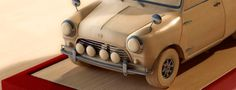 mini cooper 3d Visualization, Wooden Toys, Mini, Car, Wooden Toy Plans, Wood Toys, Automobile, Woodworking Toys, Autos