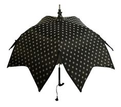 Sakura Flower Parasol - Black Polkadots | CostMad do not sell this idea/product. Please visit our blog for more funky ideas
