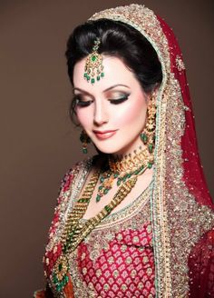 indian bridal wedding makeup