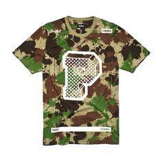 """Koszulka BIG P CAMO Męska koszulka wykonana z najlepszej jakości bawełny. Z przodu nadrukowana litera """"P"""" oraz kolekcyjne hasła. Button Down Shirt, Men Casual, Mens Tops, T Shirt, Fashion, Supreme T Shirt, Moda, Dress Shirt, Tee Shirt"""