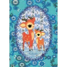Froy & Dind Ansichtkaart met twee hertjes hert bambi