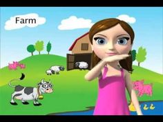 Learn the ASL sign for FARM with My Smart Hands Animated Dictionary!