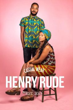 Henry Rude #african #fashion