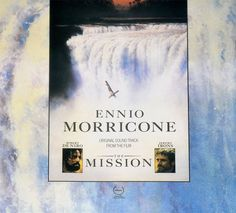 The artwork for the vinyl release of: Ennio Morricone - The Mission (Soundtrack) (Universal) Leftfield Internet Explorer, Underground Music, Main Theme, Orchestra, Soundtrack, Vinyl Records, All About Time, Rock