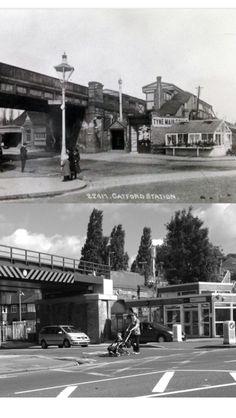 Catford bridge/ Ravensbourne park then and now