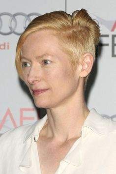TILDA SWINTON hairstyle