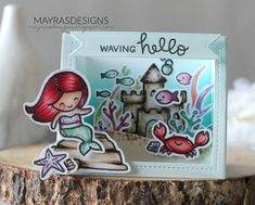 Mayras Designs: FairyTale Theme with Lawn Fawn ....