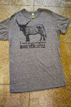 Southern Jewlz Online Store - Brand Your Cattle Tee,(http://www.southernjewlz.com/brand-your-cattle-tee/)