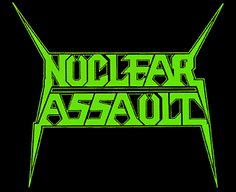 Heavy Metal Rock, Heavy Metal Music, Metal Band Logos, Metal Bands, Thrash Metal, Nuclear Assault, Popular Bands, Metal Albums, Music Logo
