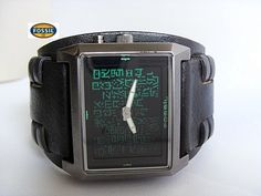 Matrix watch by Fossil