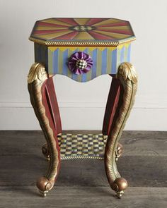 """MacKenzie-Childs """"Epaulet"""" Accent Table on shopstyle.com"""