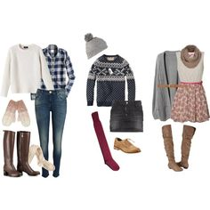Easy and Classic Winter Outfits