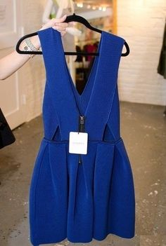 little blue dress!