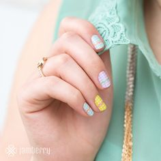 Easter is coming? Get your jams on! Beautifuldawn.jamberrynails.net