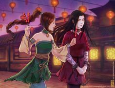girlsbydaylight:  Tyzula - Festivalby ~lilsuika  interesting. her hands are chained. set after Avatar ended?