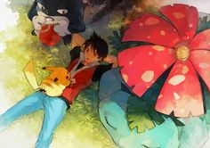 Pokemon Red + Blue