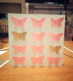 Butterfly punch card 2 by Bethany Looijenga