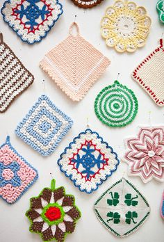 The Yarn Over List - Doilies, Bows
