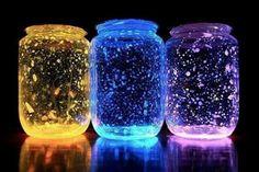 Como Fazer Potes Decorativos que Brilham no Escuro