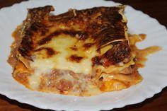 Baú da Conceição: Lasanha de carne picada à minha moda