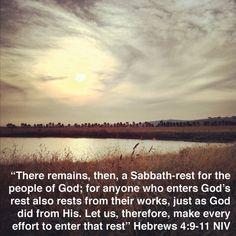 Hebrews 4:9-11