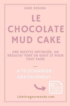Gâteau au chocolat idéal pour le cake design et les gâteaux 3D