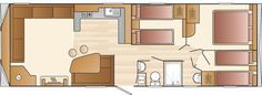 2015 Swift Loire Affordable Static Caravans from Surf Bay Leisure
