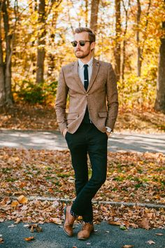 October 26, 2013. Wedding in Connecticut. Blazer: Topman - $110 (similar)Shirt: Frank & Oak - $35Pants: AllSaints Outlet - $85Shoes: Ban...