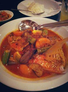 Fish Head Curry - Nyonya's style