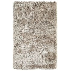 Grand Shag Rug - Champagne   Pier 1 Imports - 8x10 polyester
