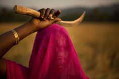 A veiled woman in a rice field in India. About 60% of Indians work in the agriculture sector. Anupam Nath/Associated Press