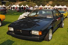 De Tomaso Longchamp.   For those who don't know, DeTomaso made the Pantera, which I never liked all that much, but this is gorgeous.