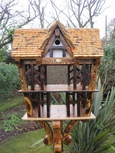 This next bird table was made to order by Blakesley Hall Museum in Birmingham.
