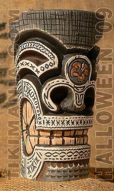 Nitin Singh (@nitin_singh_watercolor_art) • Instagram photos and videos Wood Carving Art, Wood Art, Totem Pole Tattoo, Easter Island Statues, Tiki Man, Rockabilly Art, Tiki Statues, Tiki Totem, Tiki Lounge