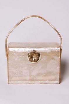 Vintage 1950s Wilardy Lucite Box Purse http://thriftedandmodern.com/vintage-1950s-wilardy-lucite-box-purse