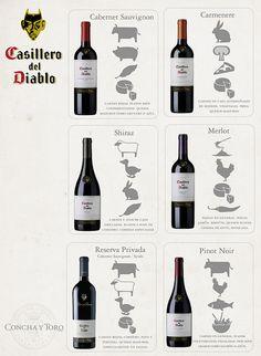 Vinos / Wines: unión de contraste o equilibrio entre vinos