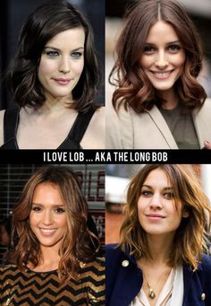 celebrities long hair vs. short - Google Search