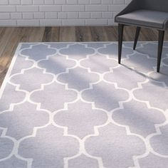 Found it at Wayfair - Martins Silver & Ivory Area Rug III